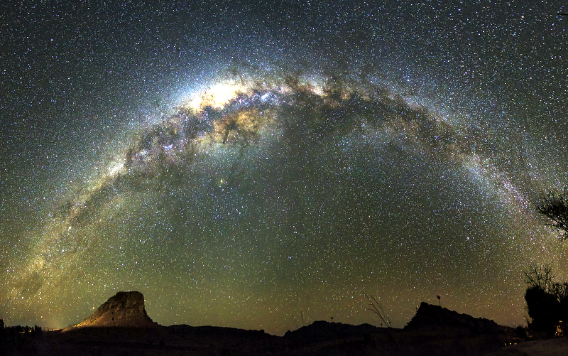 MILKY WAY PANORAMA © Dennis Van De Water | Dreamstime.com